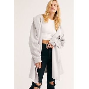 Free People Willow Hooded Cardi